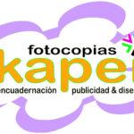 FOTOCOPIAS KAPEI - ENCUADERNACIÓN, INVITACIONES Y DISEÑO GRÁFICO EN BILBAO