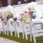 Cómo decorar una boda con flores
