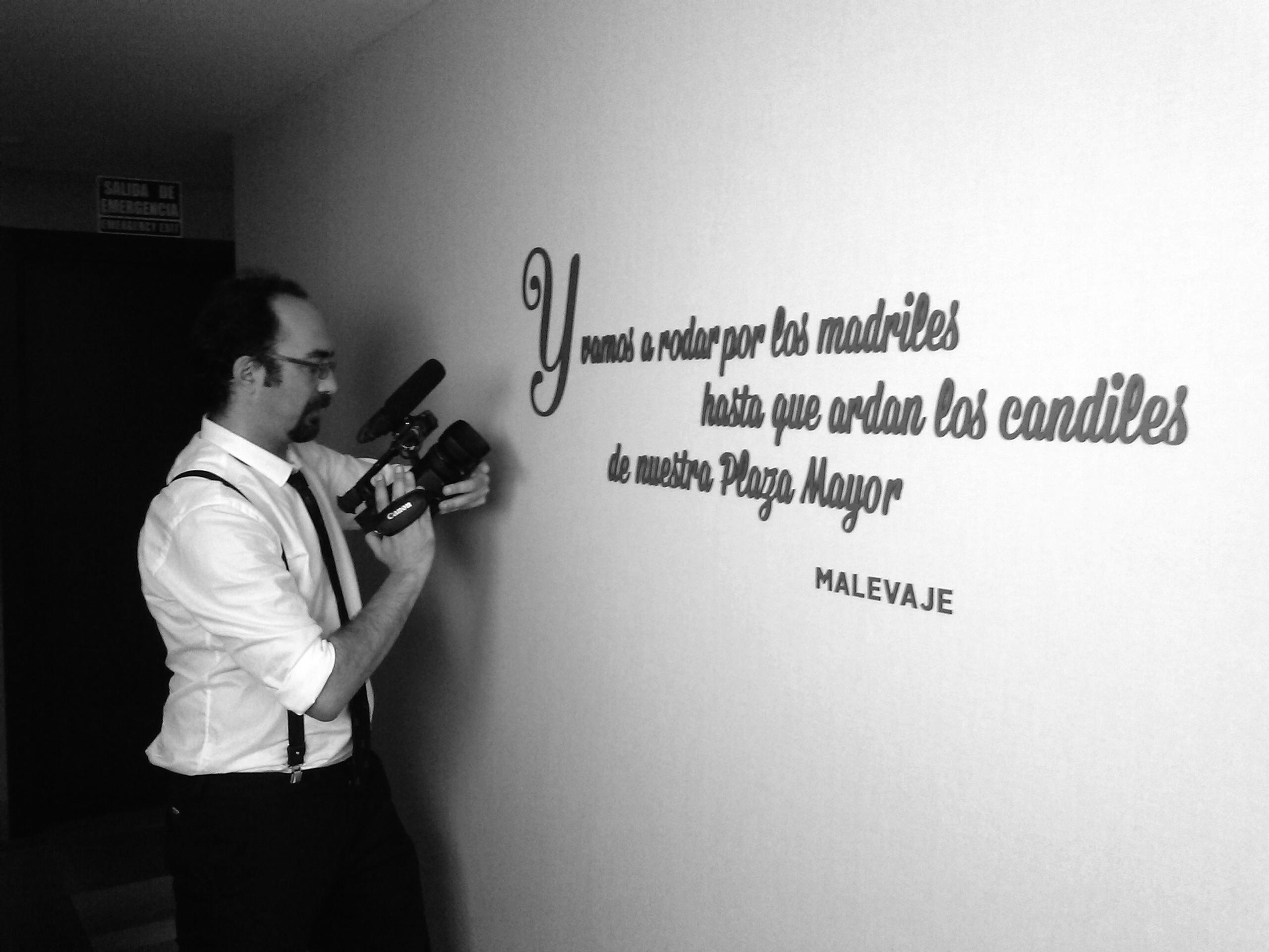 Videógrafo de bodas en Madrid
